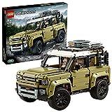 LEGO Technic - Land Rover Defender, Juguete de Construcción de Coche 4x4, Maqueta del Nuevo Modelo de Todoterreno...