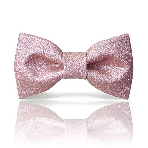 Pink bow tie for men & women   …