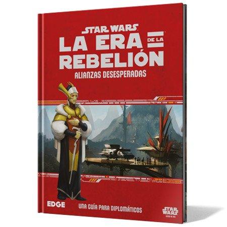 Fantasy Flight Games- Star Wars: la era de la Rebelión - Alianzas Desesperadas...