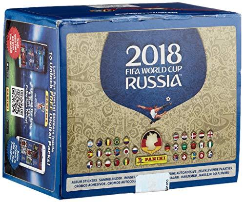 Panini - Mundial Rusia 2018 Caja con 100 Sobres - Versión importada...