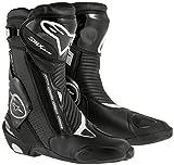 Alpinestars Botas de Moto SMX Plus Goretex, Color Negro, Tal