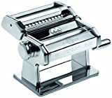 Marcato 73201 Atlas 150 Manual Pasta Machine, 8-1/4 by 6-Inch
