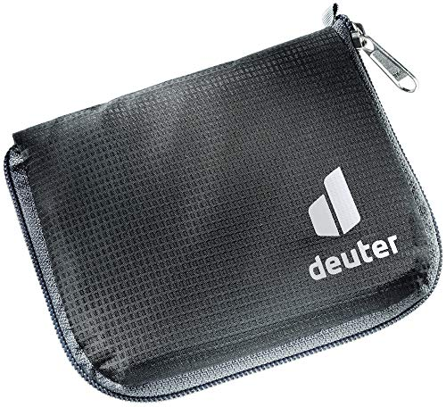deuter Unisex – Erwachsene Zip Wallet RFID BLOCK Geldbeutel, black, One Size