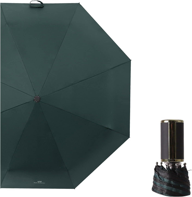 Over item handling ☆ Rain Umbrella Black Plastic Sunscreen Automatic Folding and Luxury Sun