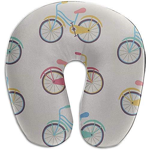 Warm-Breeze U Kopfkissen Fahrrad Rad Radspiel Spiel Sport U-förmige Memory Foam Nackenkissen Reisekissen Schlaf Reisekissen