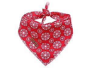 lionet paws Bandana pour Chiens de Petite, Moyenne et Grande Taille, Foulard Triangulaire pour Fille ou garçon