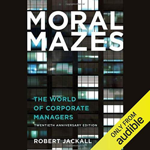 Moral Mazes cover art