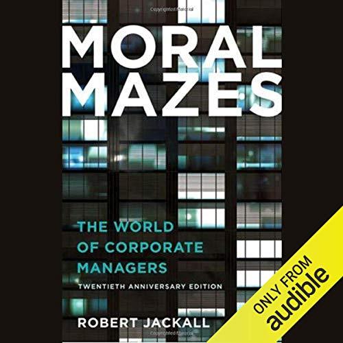 Moral Mazes Titelbild