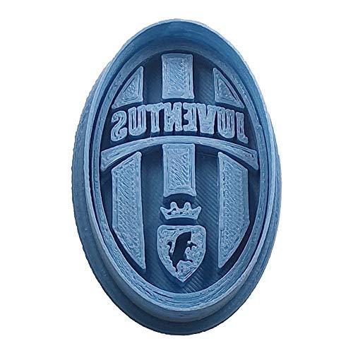 Cuticuter Juventus - Taglierina per Biscotti, Colore: Blu, 8 x 7 x 1,5 cm