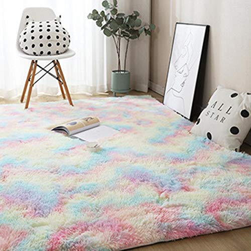 Yionloe Soft Modern Plush Carpet Decor Area Rug $8.99 (70% Off with code)