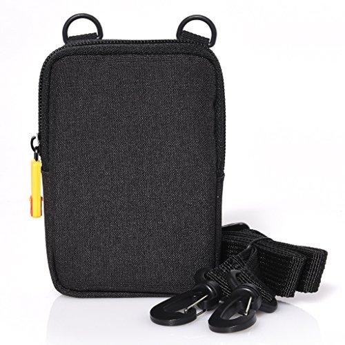Kodak Kameratasche für die Kodak Printomatic Sofortbildkamera, Schwarz, Einzeln, schwarz