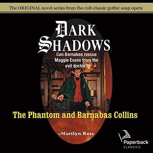 The Phantom and Barnabas Collins cover art