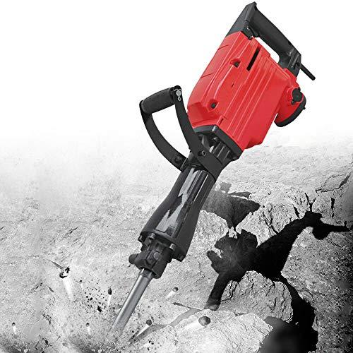 Martillo perforador eléctrico, 1500 W, 45 J, para hormigón (2 cinceles)