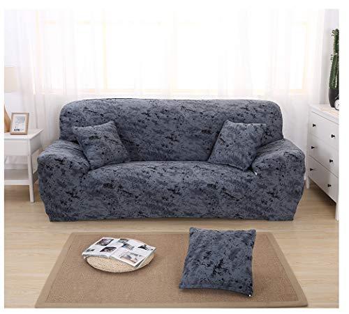DaiHan Sofá de Tela elástica Funda Todo Incluido Juego Universal Simple Funda de sofá sofá cojín sofá Toalla AsPic2 1Seat(90-140cm)