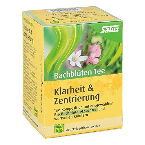 BACHBLÜTEN Tee Klarheit & Zentrierung Bio S 15 St