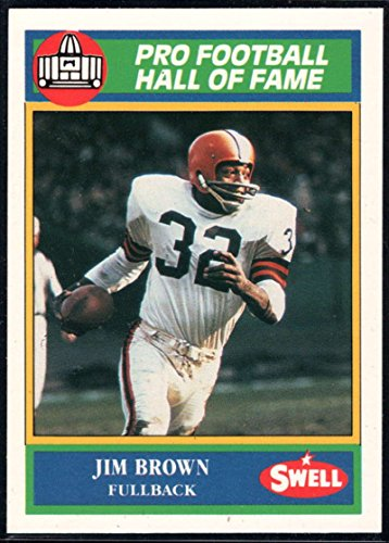 Football NFL 1990 Swell Greats #47 Jim Brown Browns