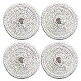 Hemoton - Malla de algodón para carne (4 unidades, 1 m), diseño elástico