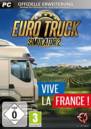 Euro Truck Simulator 2: Vive la France Add-On - [PC]