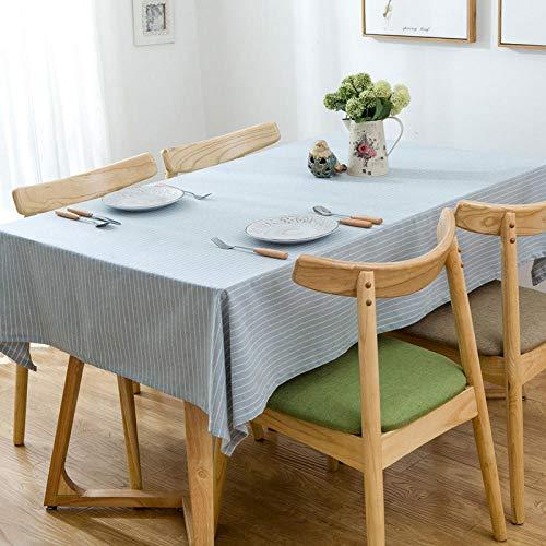Yinaa Manteles Antimanchas para Banquetes Boda Recepciones Simple Liso de Algodón y Lino Formal o Informal Celebrations y Eventos Gris Claro 130 × 180cm