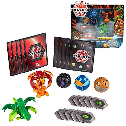 BAKUGAN Battle Pack | 5er Set zur Auswahl Spinmaster | Battle Brawlers, Bakugan:Ventus Phaedrus vs. Pyrus Hydranoid