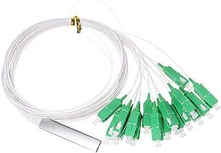 BIlinli Divisor óptico del PLC de la Fibra del Conector sin Bloques diferenciado SC/APC 0.9mm 1x16 Mini