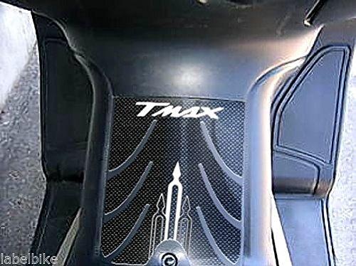 Kit Autocollant Boomerang R/ésine 3D Tmax Carbone pour Yamaha T Max 500 2001-2007 Carbone-Blanc