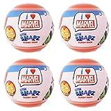 I Love Marvel Chibi Snapz Buddy Pack - Lot of 4