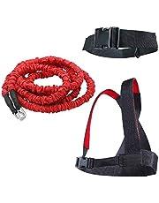 YNXing Carga Juego de Entrenamiento de Fuerza explosiva Entrenamiento de Fuerza Resistencia Cuerda Mejorar Fuerza Velocidad y Muscular …