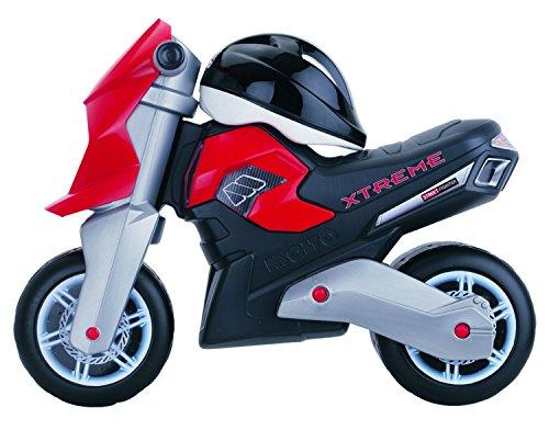 MOLTO- Xtreme Correpassillos Moto con Casco, Color Negro/Rojo (10242)