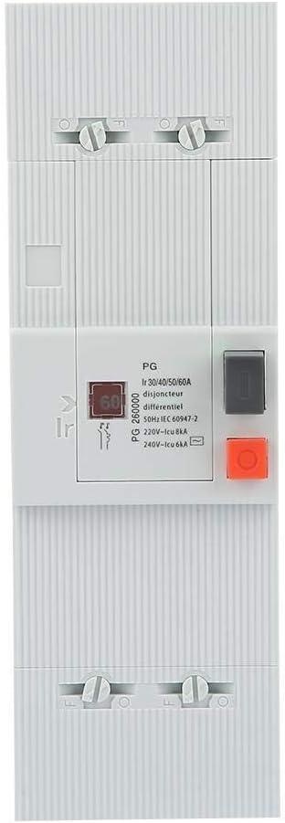 XUXUWA Special price Circuit Breaker 30-60A 60Hz 2-Pole wholesale 50Hz