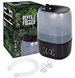 Reptile Humidifier/Fogger - 4L Tank - New Digital Timer - Add Water from Top! for Reptiles/Amphibians/Herps - Compatible with All Terrariums and Enclosures
