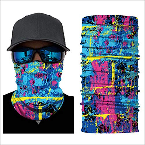 Great Deal! DOCAKOO Men's Outdoor Scarf Bike Scarves Sports Neck Gaiter Sweat Headbands Novelty Band...