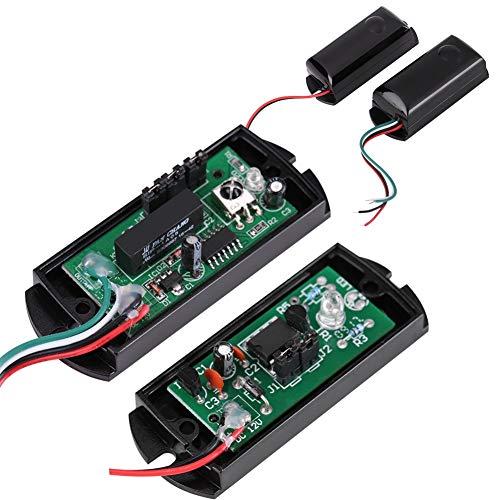 Mothinessto Detector de Infrarrojos fotoeléctrico Sensor de Haz IR antiniebla para protección perimetral