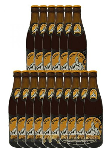 Odin - Trunk (Honigbier / 16 Flaschen à 0,5 l / 5,4 {af2dc8b2bd849b7f9e56a312f16855ff49ed9a40a239f95d416d845795a95db0} vol.) inc.1.28€ MEHRWEG Pfand