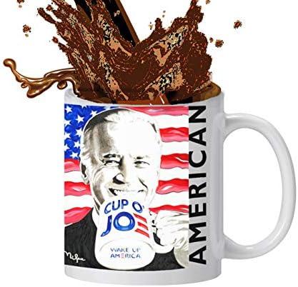 Funny Coffee Mug Joe Biden Coffee Mug CUP O JOE Coffee Mug Ceramic Mugs Printed with 46th U product image