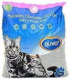 DUVO + Premium con Olor Polvo bebé para Arena de Gato 15L