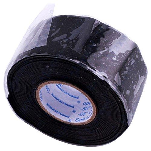 SODIAL Cinta adhesiva de goma universal cinta electrica de alta temperatura