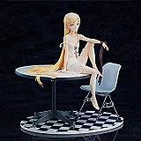 19 cm Oshino Shinobu Anime Figuras Historia lesionada KISE XIU TE bajo el corazón Versión de Asiento de Mesa Decoración de esculturas Estatua Estatuilla Modelo Muñeca de Juguete