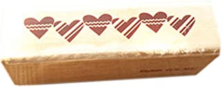Rectangle Lovely Heart Shape Classical Stamper, Random Color