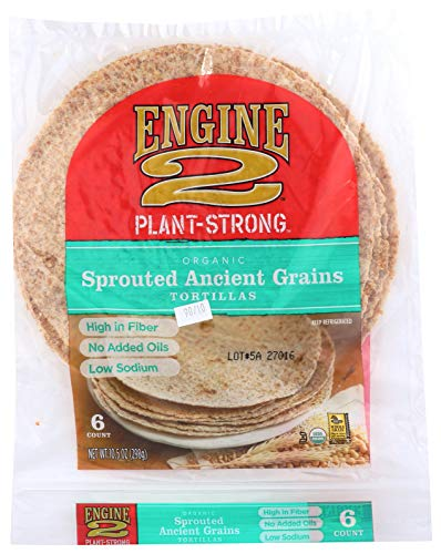 Engine 2, Organic Sprouted Ancient Grains Tortillas, 6 ct