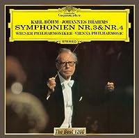 Brahms: Symphonies Nos. 3 & 4 by Karl Bohm (2012-05-15)