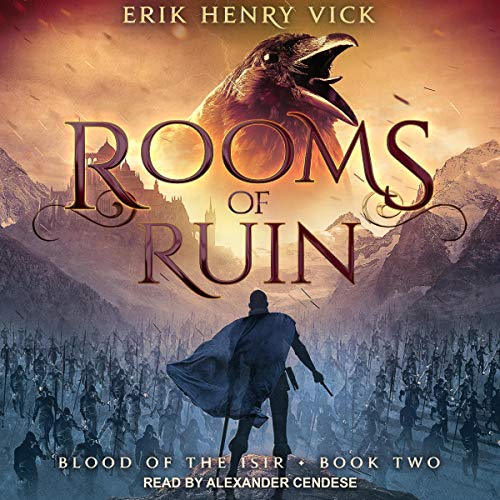 Rooms of Ruin audiobook cover art