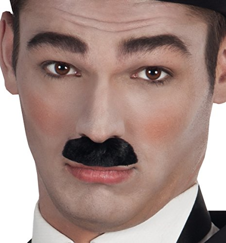 Boland 01806 - Schnurrbart Comedian, Einheitsgröße, schwarz