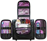 Large Hanging Toiletry Bag Has Enough Room for Full-Size Items, Perfect for Travel | Great Gift!