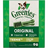 GREENIES Original TEENIE Natural Dog Dental Care...