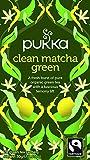 Pukka Clean Matcha Green, Organic Herbal Green Tea (4 Pack, 80 Tea bags)
