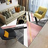 Alfombra De Piso Antideslizante Minimalista Moderna Nórdica Triángulo Lavable Sala De Estar Sofá Mesa De Café Dormitorio Hotel Fiesta Alfombra De Fiesta