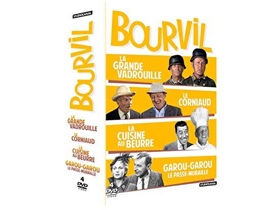 Bourvil-Coffret : La Grande Vadrouille + Le Corniaud + La Cuisine au Beurre Garou Le Passe-muraille