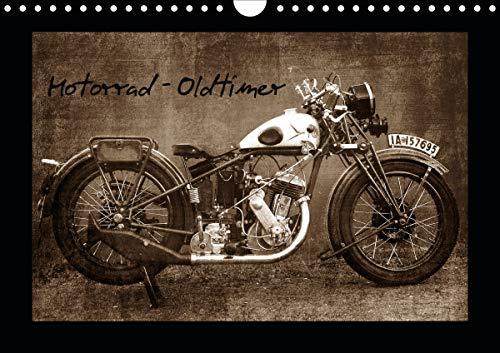 Motorrad Oldtimer (Wandkalender 2021 DIN A4 quer)