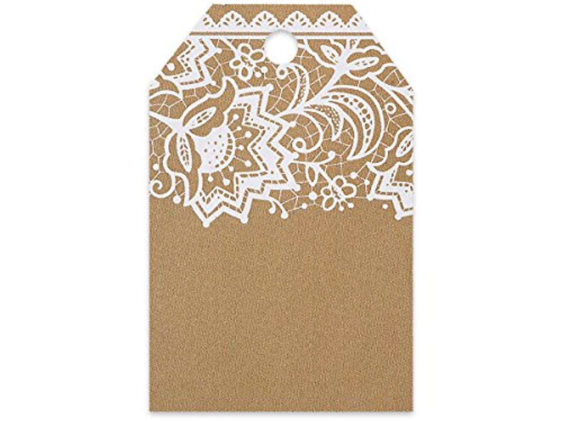 Classic Lace Printed Gift Tags 2-1/4